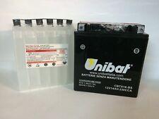 CBTX16-BS BATTERIA MOTO UNIBAT 14 AH 230 A (EN) - COD. YUASA YTX16-BS