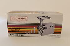 Royaltronics Elektrischer Fleischwolf 600W 3 Schneidplatten