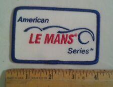 American Le Mans Series Patch IMSA Auto Car Racing Corvette Porsche Ferrari
