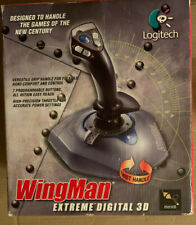 Logitech Wingman Extreme Digital 3D Twist Handle Joystick With CD.  New -Repkg
