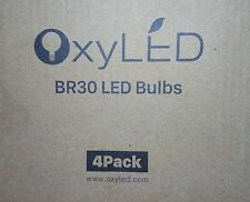 OxyLED BR30 LED Bulbs 3000K Pack of 4