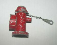 VINTAGE TONKA FIRE HYDRANT WITH WRENCH  FOR FIRE TRUCK