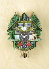 Horloge forêt-noire à pendule à Coucou Black Forest Faon Cerf 54PQ