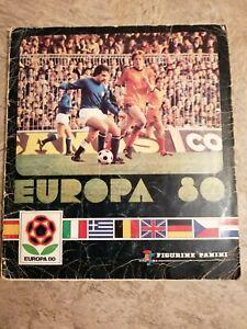 Panini Europa 80 Album - Complete - VERY Rare - Good Condition