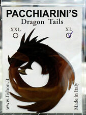 Paolo Pacchiarini´s Dragon Tails XL CHOCOLATE BROWN 4 Stück Dragon Tails XL