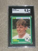 1989 Score Troy Aikman #270 Rookie SGC 9.5 Mint +