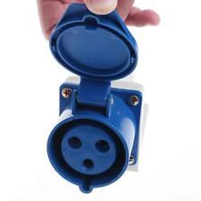 Prise industrielle imperméable 2P + E prise 220-240V 32A Amp IP67 3-Pin