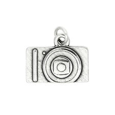 Sterling Silver Flat Camera Charm