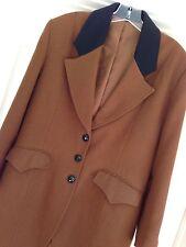 Vtg NEW Size 10  Coldwater Ck Equestrian Hunter Jumper Long Tails Wool Jacket
