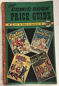 OVERSTREET Comic Book PRICE Guide 1973, 3rd Edition