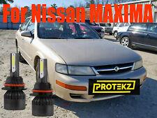 LED MAXIMA 1990-1999 Headlight Kit 9004 HB1 6000K White Bulbs High-Low Beam