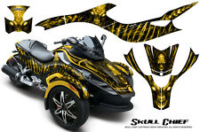 CAN-AM BRP SPYDER RS GS GRAPHICS KIT CREATORX DECALS WRAP SCY