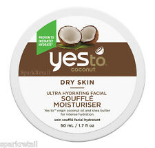 Yes to Coconut Souffle Moisturiser 50ml Creme Cleanser 118ml BN UK SELLER