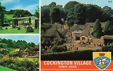 Cockington Village - Torbay - Devon - 1973 Original Postcard (60270)