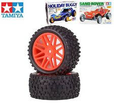 Rear Wheels & Tires For Tamiya DT02 Holiday Buggy Sand Rover 1/10 Rc Buggy
