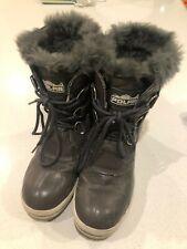 Ladies / Girls Grey Polar Snow Boots size 5