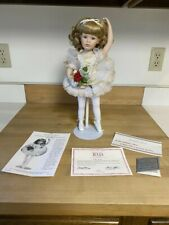 Danbury Mint Julia Porcelain Ballerina Doll by Susan Wakeen