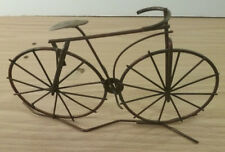 Vintage Metal Bike Decorative Piece