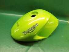 "Triumph Body-Gaz Réservoir METAL (Int .400 *) Speed Triple 1050 Tank ""Roulette Green"""
