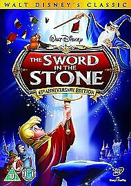 Walt Disney -The Sword In The Stone : 45th Anniversary Edition DVD  NEW & SEALED