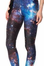 Black Milk blue galaxy leggings M 10 12 iconic genuine