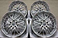 "Roues En Alliage 18"" 18 in (environ 45.72 cm) Alloys CRUIZE 190 SPL Cross Spoke 5X115 montage"