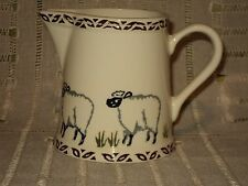 PRICE KENSINGTON CLASSIC Handpainted SHEEP Creamer Milk Jug Country Farm Pottery