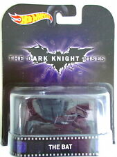 BATMAN HOT WHEELS RETRO ENTERTAINMENT - DARK KNIGHT RISES THE BAT