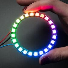 Adafruit NeoPixel Ring, 24 x 5050 RGB LED mit integriertem Treiber, für Arduino
