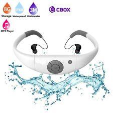 Lecteur MP3 8 Go étanche waterproof à 3 mètres + Radio FM couleur Blanc