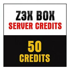 Z3X Server Credits pack (50 Credits) NEW ACCOUNT OR REFILL FAST