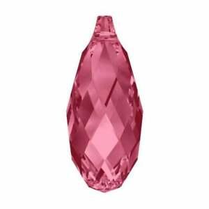 Drop Briolette pendant 6010 Swarovski ® 13x6.5mm More Colors Teardrop Crystals