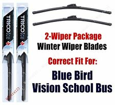 WINTER Wipers 2-pack fits 2008+ Blue Bird Vision School Bus 35180x2