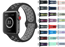 NEW Replacement Silicone Sport Band Strap For Nike+ Apple iWatch Smartwatch 38mm