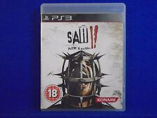 ps3 SAW II 2 Flesh & And Blood Survival Horror Game REGION FREE PAL UK Version