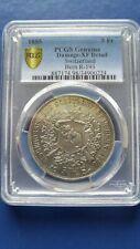 1885 SWITZERLANDBern 5 Francs Silver Shooting Thaler PCGS XF Details Damaged
