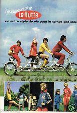 Publicité advertising 1973 Les Magasins de sport La Hutte