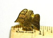 GOLDTONE EAGLE LAPEL PIN B480