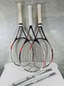 Set of 3 Dunlop Biomimetic AeroSkin CX M3.0 Tennis Rackets (2 x G2, 1 x G1)