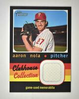 2020 Heritage High Number Clubhouse Collection Relic #CCR-AN Aaron Nola