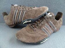 Adidas 7 38 Tuscany Goodyear Tire Brown Suede Sneaker Racing Driving 748959