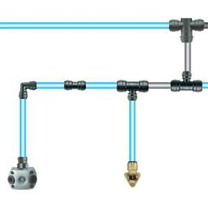 Druckluftrohr Druckluftsystem Rohrleitungssystem 15 mm