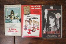LOT  3 video VHS - VIOLENCE ET PASSION, JE T'AIME MOI NON PLUS, LA VAMPIRE NUE