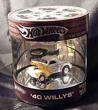 Hot Wheels Oil Can Showcase '40 Willys Street Rod Series Free Ship See Details