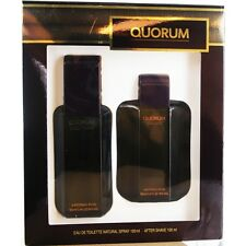 Quorum EDT Spray 3.4 oz & Aftershave 3.4 oz