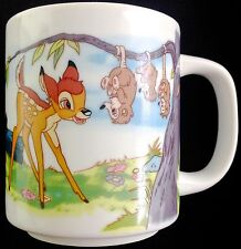 Bambi Mug VTG Walt Disney Productions Made in Japan
