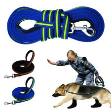 10/16/33/50ft Long Dog Tracking Leash Nylon Webbing Recall Training Lead K9 Dogs