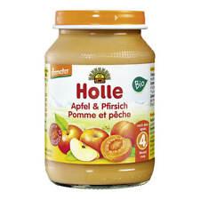 Holle - Apfel & Pfirsich - 190 g - 6er Pack