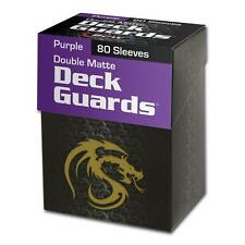 Wholesale Case of (2880) Matte Purple BCW Deck Guard Card Sleeve Protector Boxed