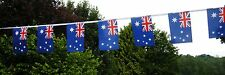 Super Australia Australian Fabric Bunting 18ft / 5.5m 20 Flags